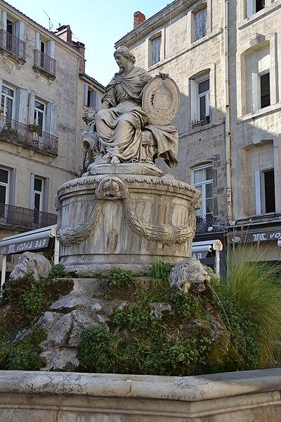 Photo du Monument Historique Fontaine de la Préfecture situé à Montpellier
