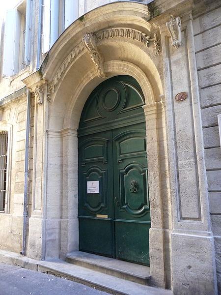 Photo du Monument Historique Hôtel d'Aurès situé à Montpellier