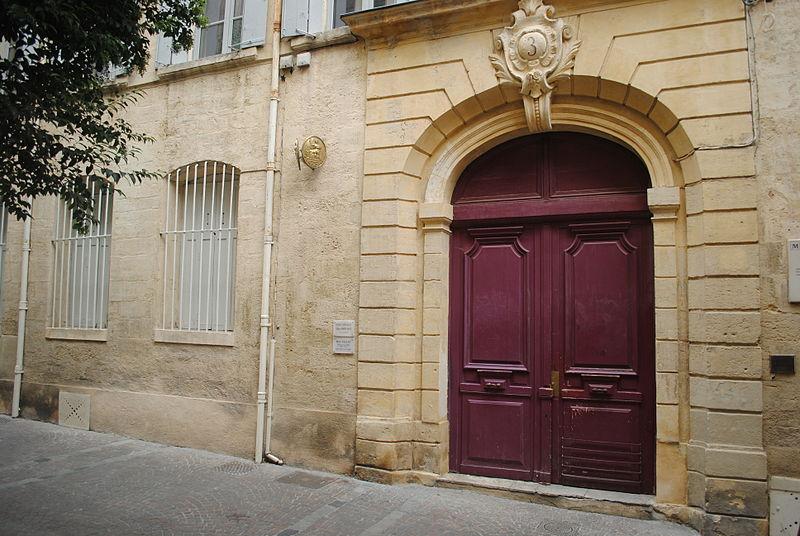 Photo du Monument Historique Hôtel Bardy situé à Montpellier