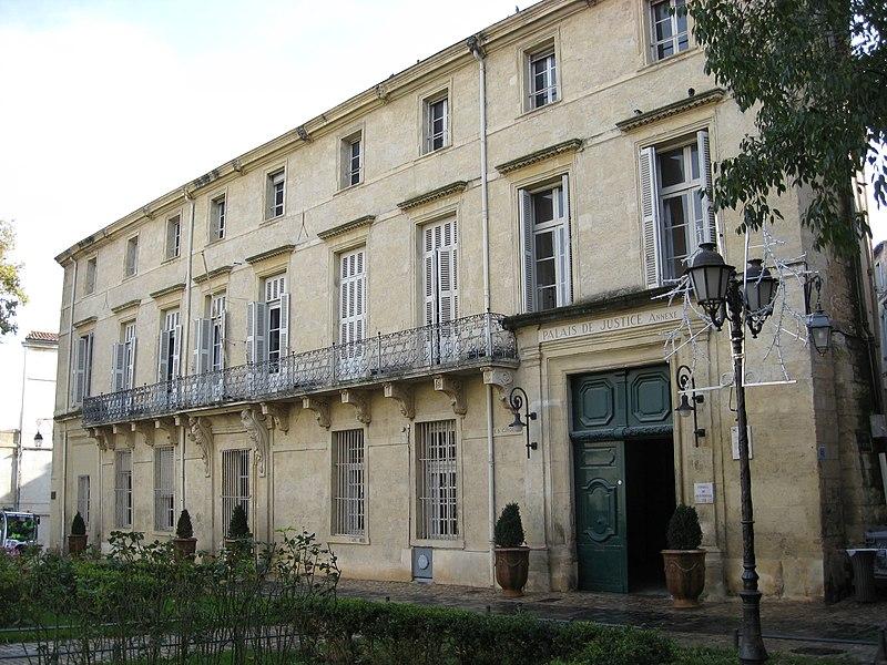 Photo du Monument Historique Ancien hôtel de Belleval, dit aussi Richer de Belleval ou Boulhaco, ou ancien hôtel de ville situé à Montpellier