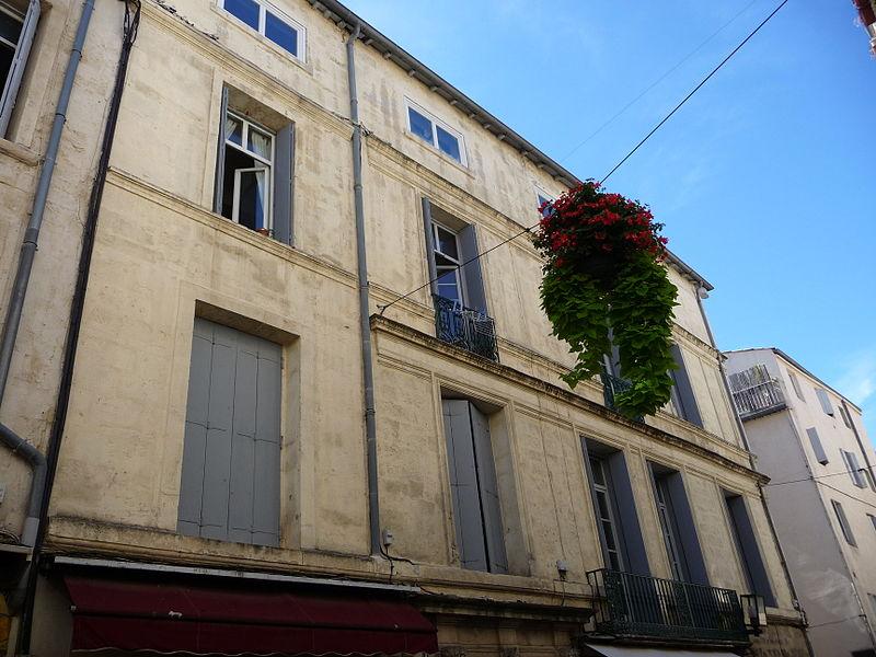 Photo du Monument Historique Hôtel de Campan situé à Montpellier