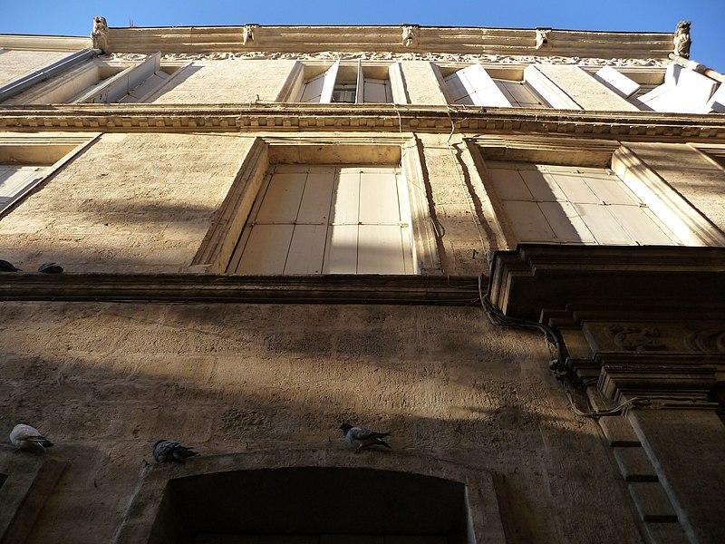 Photo du Monument Historique Hôtel de Castan situé à Montpellier