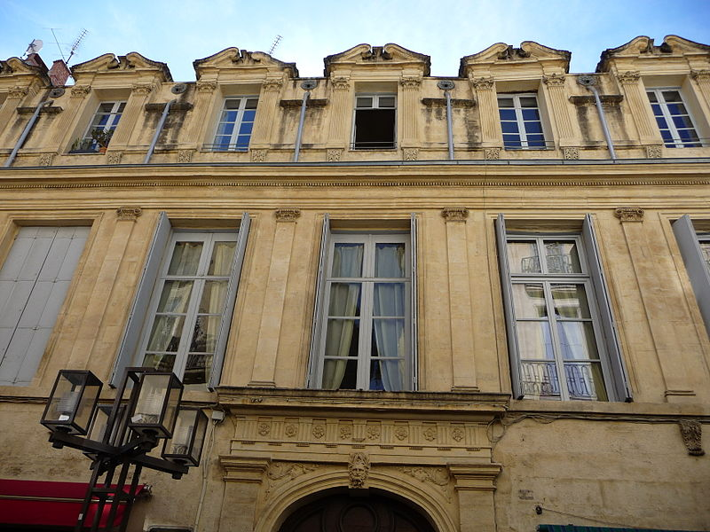 Photo du Monument Historique Ancien Hôtel de Castries situé à Montpellier