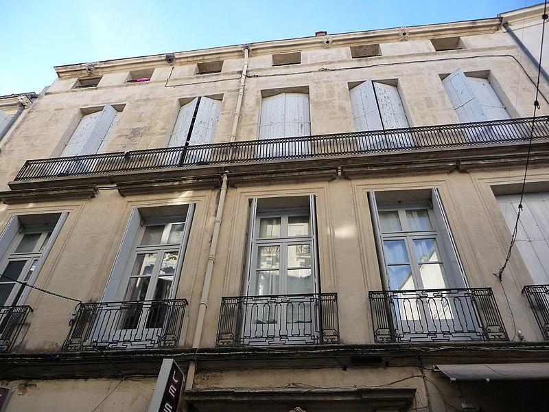 Photo du Monument Historique Hôtel Estorc, puis librairie situé à Montpellier