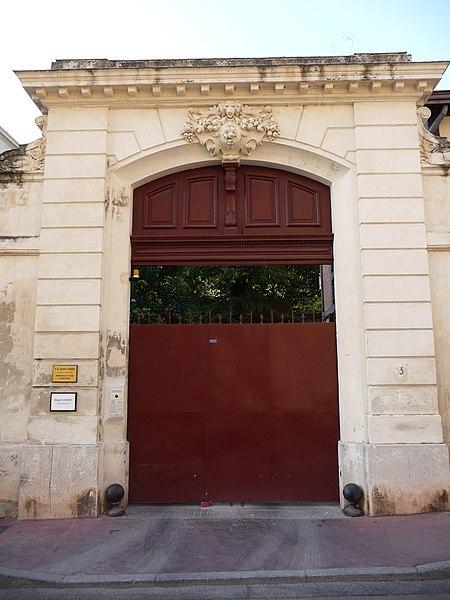 Photo du Monument Historique Hôtel de Fesquet situé à Montpellier
