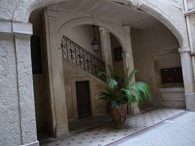 Photo du Monument Historique Hôtel de Fizes situé à Montpellier