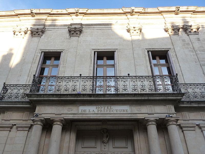 Photo du Monument Historique Ancien hôtel de Ganges situé à Montpellier