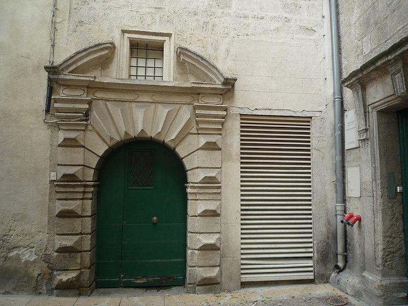 Photo du Monument Historique Hôtel de Gayon situé à Montpellier