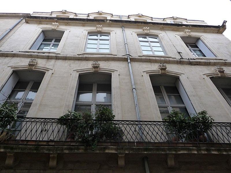 Photo du Monument Historique Hôtel de Griffy situé à Montpellier