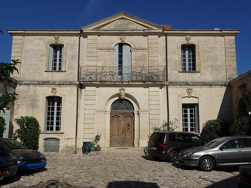 Photo du Monument Historique Hôtel de Guidais situé à Montpellier