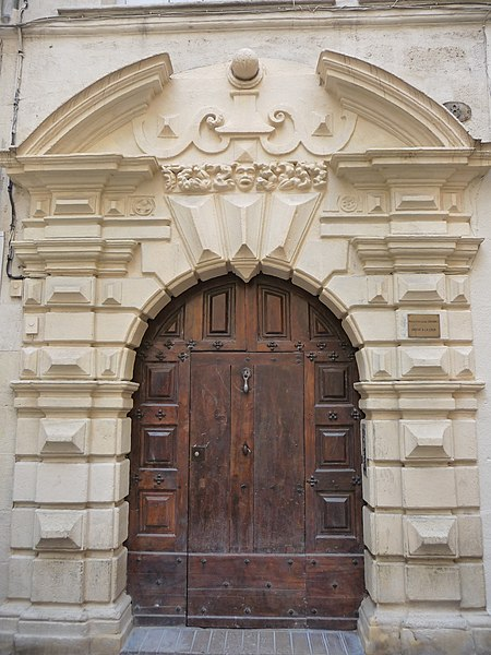 Photo du Monument Historique Hôtel Hostalier situé à Montpellier