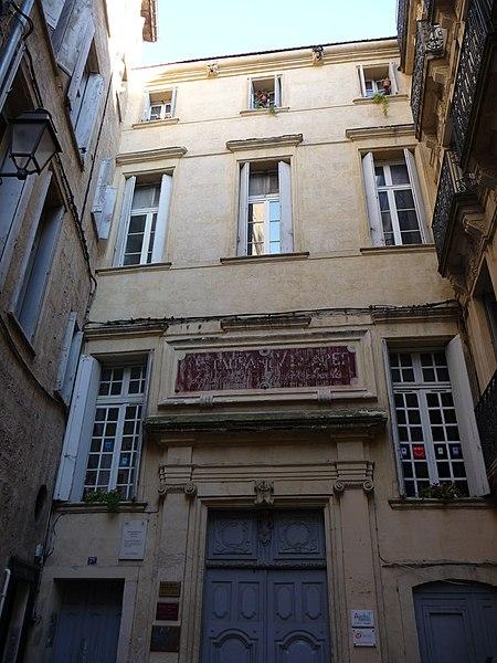 Photo du Monument Historique Hôtel d'Hostalier situé à Montpellier