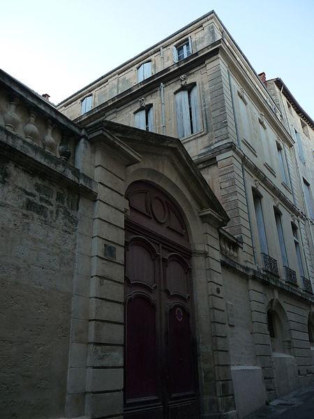 Photo du Monument Historique Hôtel de Joubert situé à Montpellier