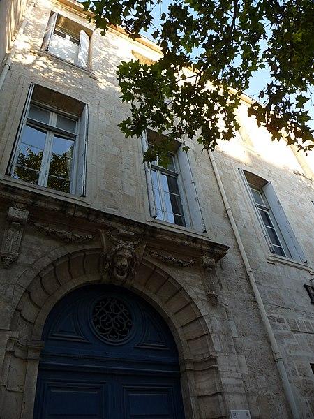 Photo du Monument Historique Ancien hôtel de Mirman situé à Montpellier