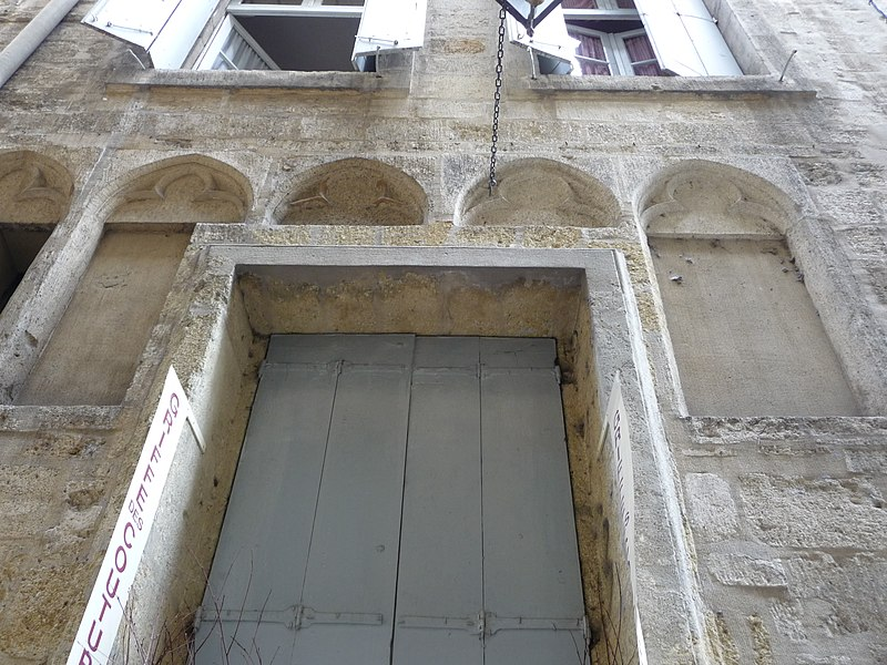 Photo du Monument Historique Hôtel de Montcalm situé à Montpellier