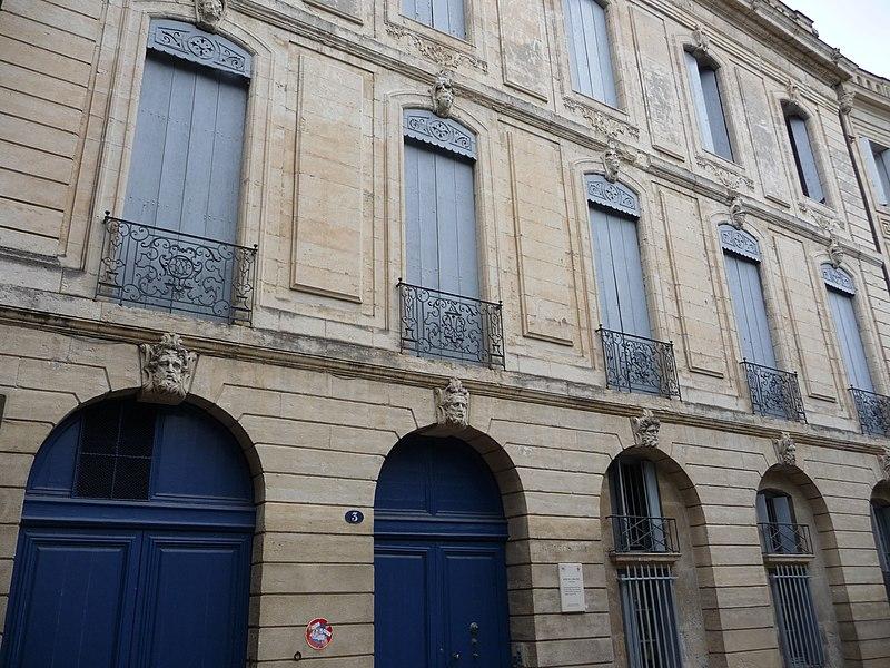 Photo du Monument Historique Hôtel de Cambacérès-Murles situé à Montpellier