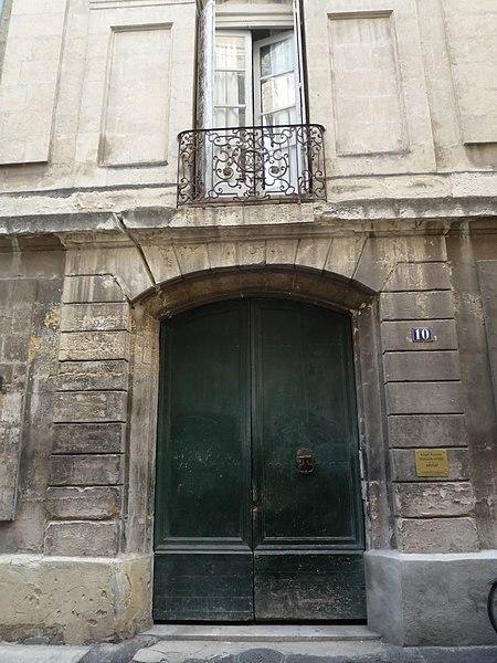 Photo du Monument Historique Hôtel Pas de Beaulieu situé à Montpellier