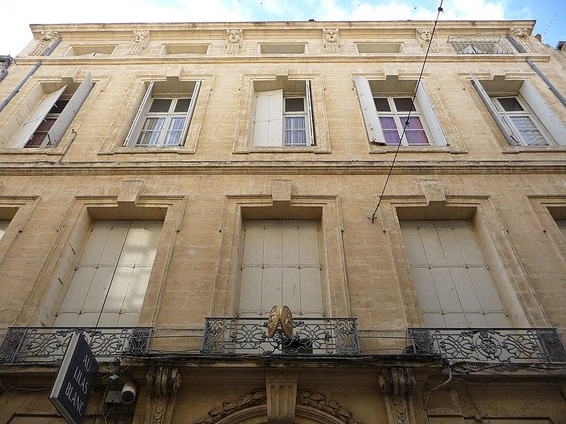 Photo du Monument Historique Hôtel Périer situé à Montpellier