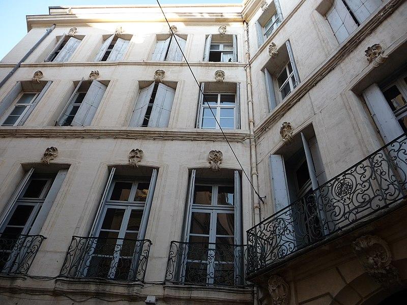 Photo du Monument Historique Hôtel Pomier-Layrargues situé à Montpellier