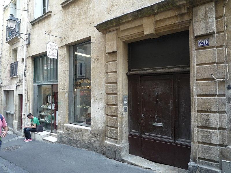 Photo du Monument Historique Hôtel de Querelles situé à Montpellier