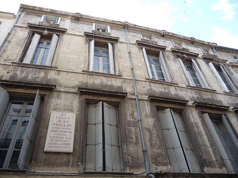 Photo du Monument Historique Ancien hôtel Rey situé à Montpellier