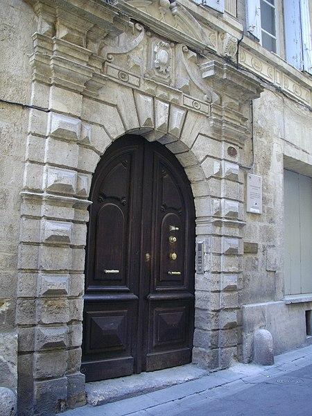 Photo du Monument Historique Hôtel de Roquemore situé à Montpellier