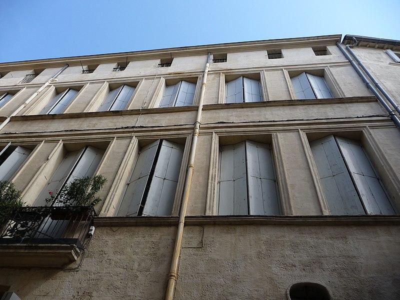 Photo du Monument Historique Hôtel de Saint-Félix situé à Montpellier