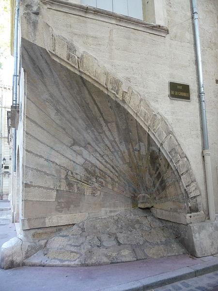 """Photo du Monument Historique Ancien Hôtel de Sarret dit de la """"Coquille"""" situé à Montpellier"""