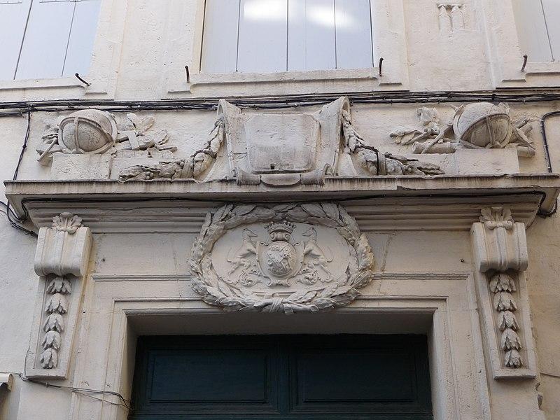 Photo du Monument Historique Hôtel de la Société Royale des Sciences situé à Montpellier