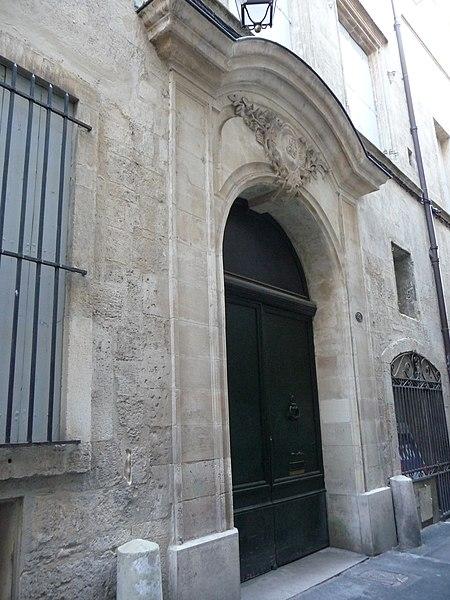 Photo du Monument Historique Hôtel des Trésoriers de France (ou hôtel de Lunaret) situé à Montpellier