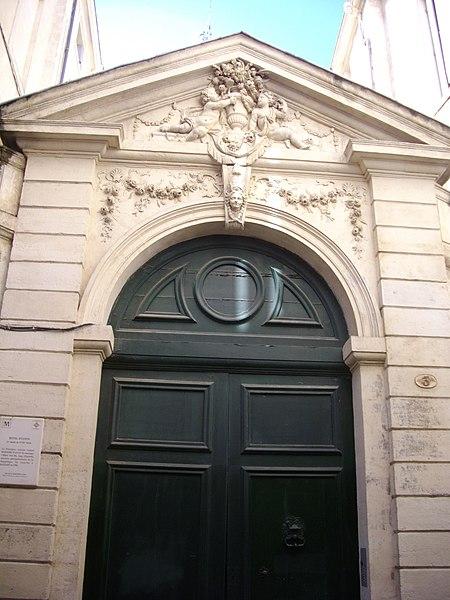 Photo du Monument Historique Hôtel d'Uston situé à Montpellier
