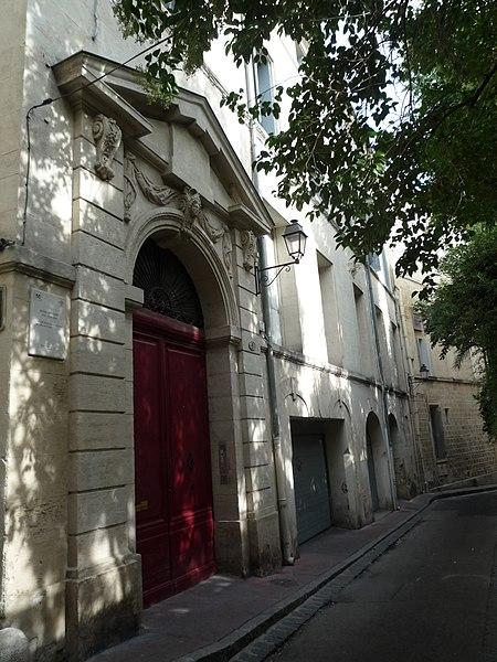 Photo du Monument Historique Hôtel Verchant situé à Montpellier