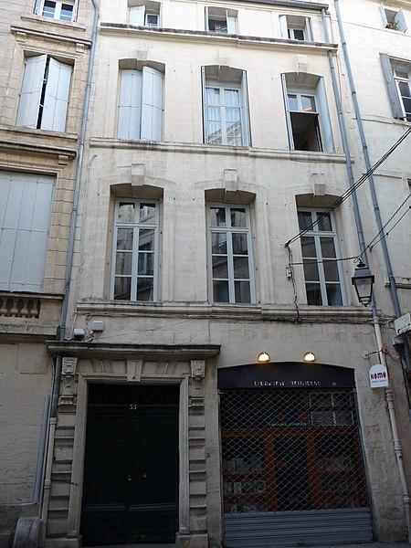 Photo du Monument Historique Hôtel des Vignes situé à Montpellier