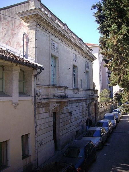 Photo du Monument Historique Immeuble dit Hôtel Lefèvre situé à Montpellier