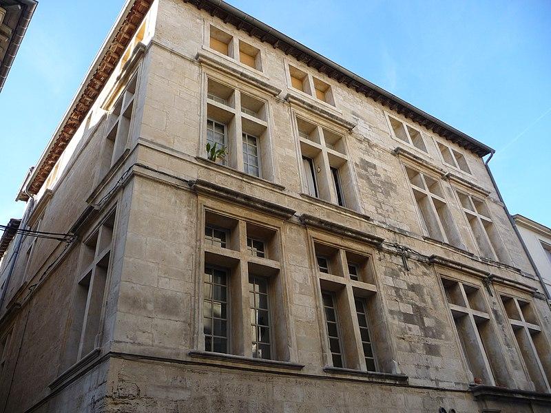 Photo du Monument Historique Ancien logis du Chapeau Rouge situé à Montpellier