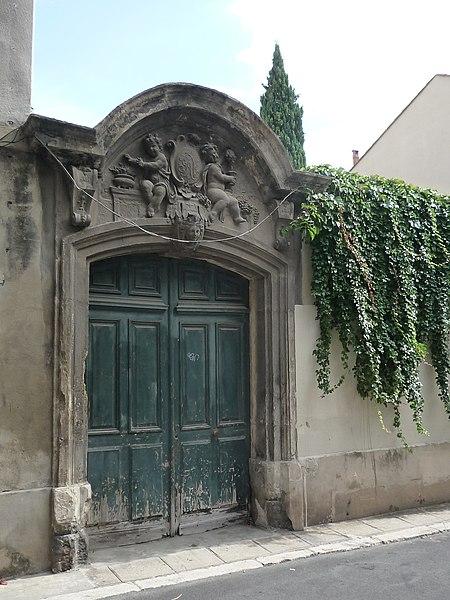 Photo du Monument Historique Maison situé à Montpellier