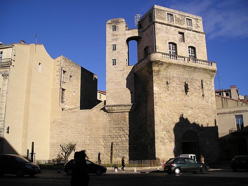 Photo du Monument Historique Ancien observatoire dit Tour de la Babotte situé à Montpellier