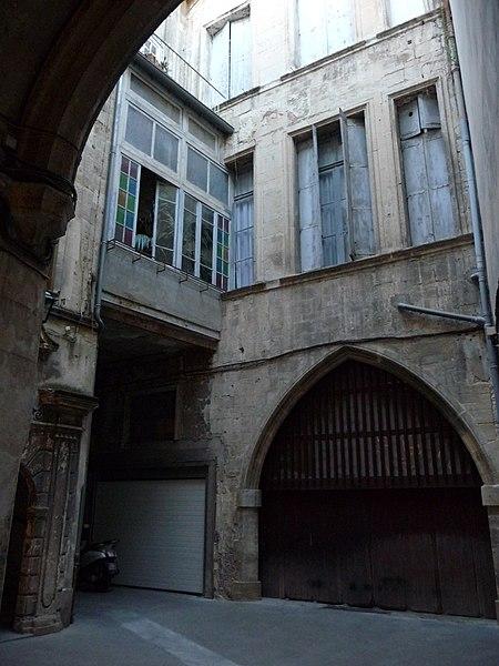 Photo du Monument Historique Palais des Rois d'Aragon situé à Montpellier