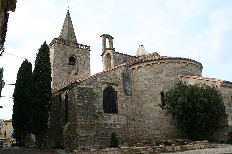 Photo du Monument Historique Eglise Sainte-Marie-Madeleine situé à Nézignan-l'Evêque