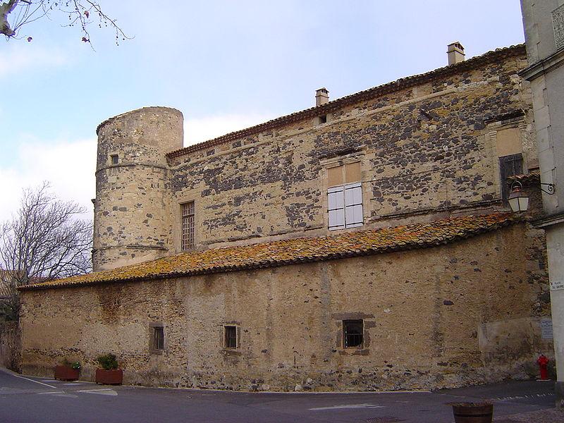 Photo du Monument Historique Château situé à Nizas