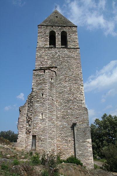 Photo du Monument Historique Eglise Saint-Laurent situé à Olargues