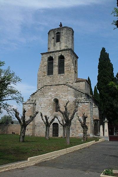 Photo du Monument Historique Eglise Notre-Dame des Vertus situé à Paulhan