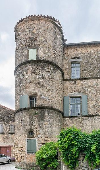 Photo du Monument Historique Château situé à Pégairolles-de-l'Escalette