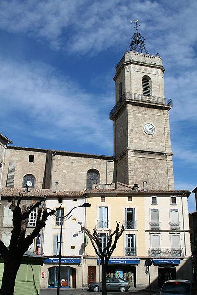 Photo du Monument Historique Collégiale Saint-Jean situé à Pézenas