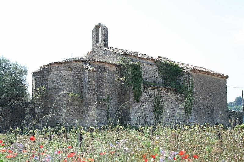 Photo du Monument Historique Ancienne église Saint-Jean de Bébian situé à Pézenas