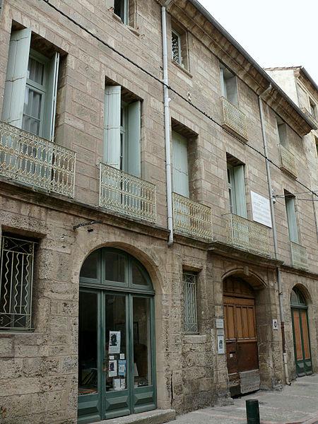 Photo du Monument Historique Hôtel d'Alfonce situé à Pézenas