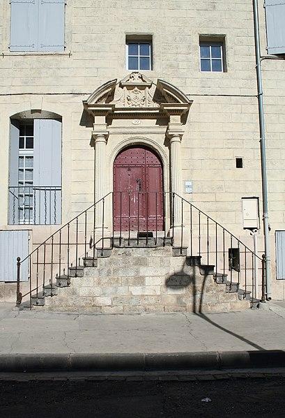 Photo du Monument Historique Hôtel de Bezons situé à Pézenas