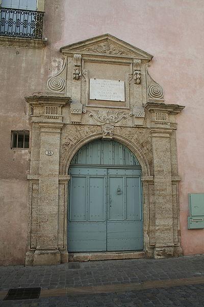 Photo du Monument Historique Hôtel du Connétable de Montmorency (ou Hôtel de Peyrat) situé à Pézenas