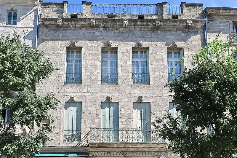 Photo du Monument Historique Hôtel de Landes de Saint-Palais situé à Pézenas