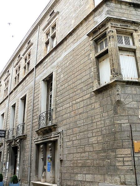 Photo du Monument Historique Hôtel Saint-Germain situé à Pézenas